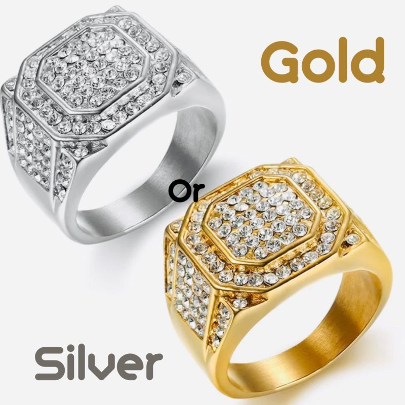 Luxury Hip Hop Ring