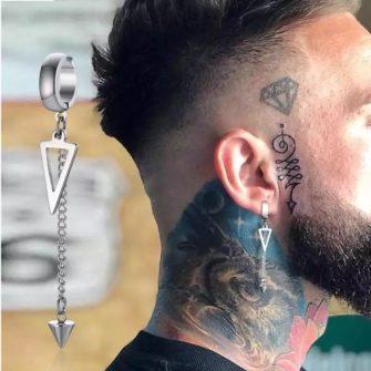 Men earrings